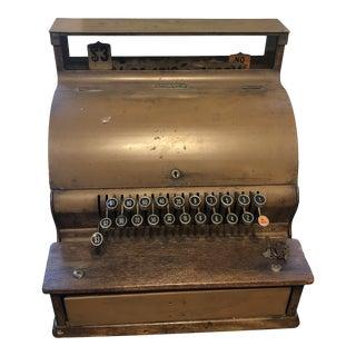 1920s Antique Decorative Cash Register For Sale