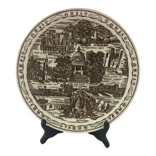 Vintage New Mexico Souvenir Plate For Sale