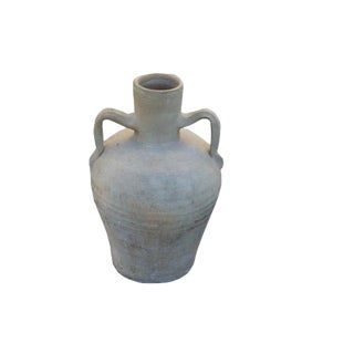 20th Century Spanish Pottery Watering Jug With Handles For Sale