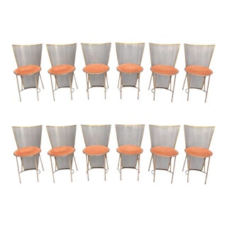 Limited Edition Expo '92 Brass Chairs For Sale