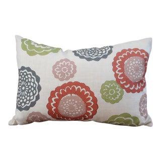 Hand Blocked Galbraith & Paul Throw Pillow For Sale