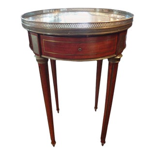 19th Century French Louis XVI Style Bouillotte Table For Sale