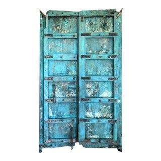 Antique Indonesian Blue Door