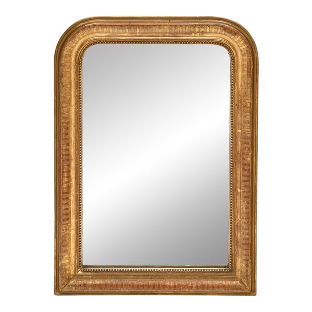 Louis Philippe Period Gold Leaf Mirror For Sale