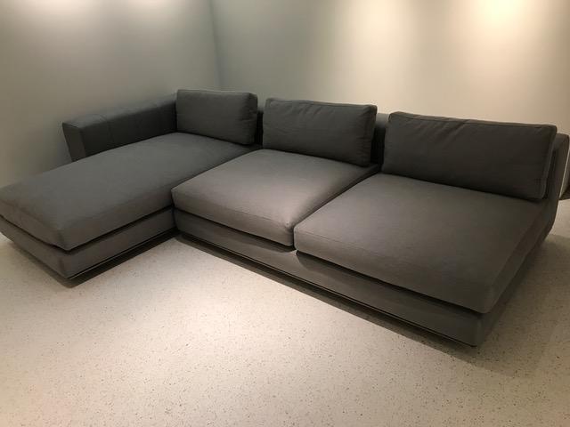 Minotti Freeman Sectional Sofa Chairish