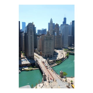 """""""Chicago From a Bird's Eye View"""" Photograph For Sale"""