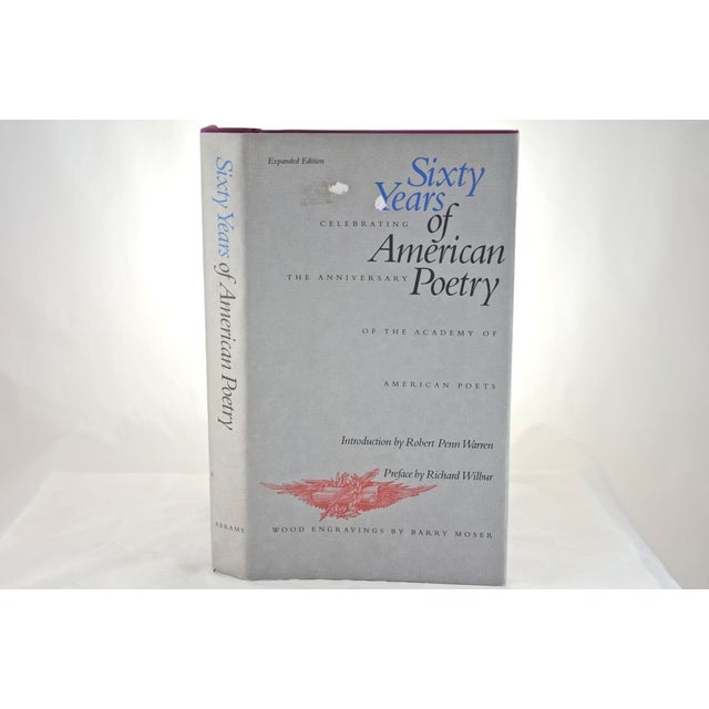 A 60 Years Of American Poetry book that was published by New York: Harry N. Abrams, Inc in 1996. First edition hardcover,...