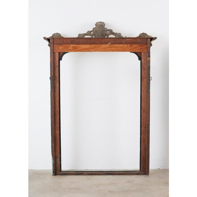 19th Century Venetian Painted Mirror Frame or Picture Frame For Sale - Image 12 of 13