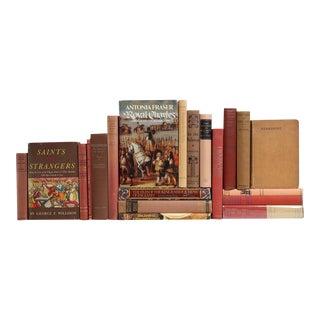 Mid Century British History Books - Set of 20 For Sale