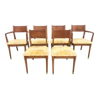 Six Vintage Drexel Dining Chairs For Sale