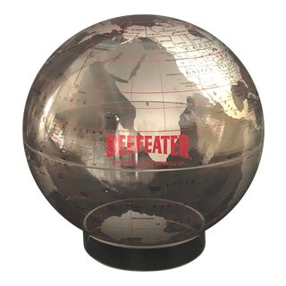 Beefeater Gin Bar Advertising World Globe For Sale