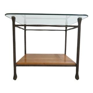 Ethan Allen Artisan Rustic End Table