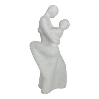 Vintage Royal Haeger Couple Dancing Ceramic Sculpture For Sale