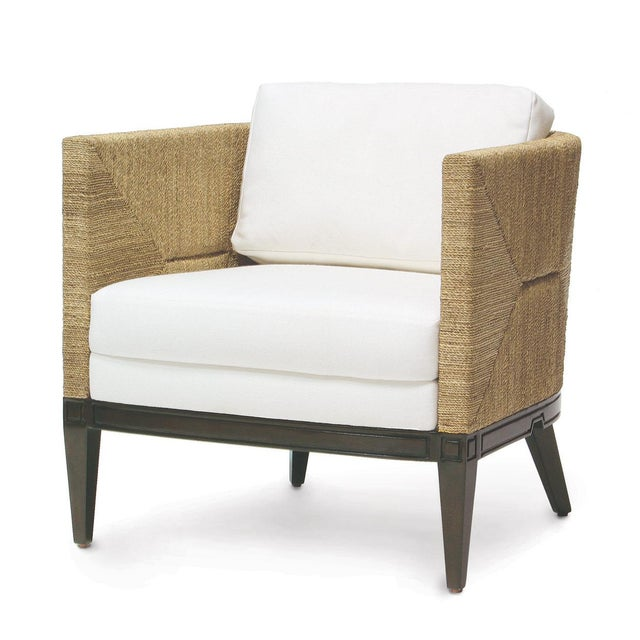 Brown Cameron Lounge Chair by Palacek For Sale - Image 8 of 8