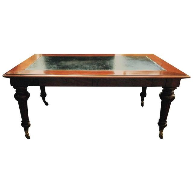 Mahogany & Leather Ralph Lauren Desk - Image 1 of 6