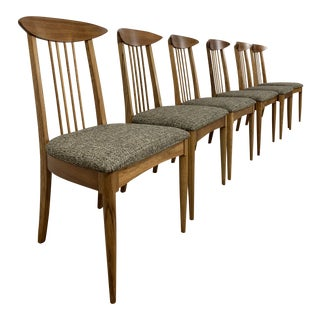 Mid Century Dining Chairs - Set of 6 For Sale
