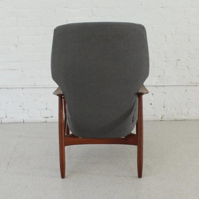 1950s Vintage Finn Juhl Model 1 Lounge Chair For Sale - Image 5 of 7