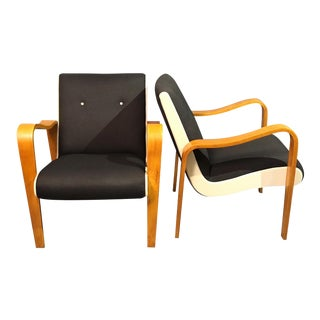 1960s Vintage Mr.Curated Lounge Chairs Designed by Thunder - a Pair For Sale