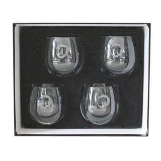Libbey Horse Head Glasses - Set of 4 For Sale