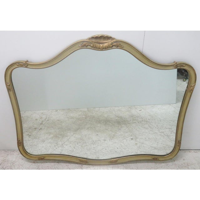 French Provincial Style Paint Decorated Mirror - Image 2 of 6
