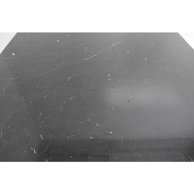 Mario Bellini Il Colonnato Black Marble Table For Sale - Image 9 of 13