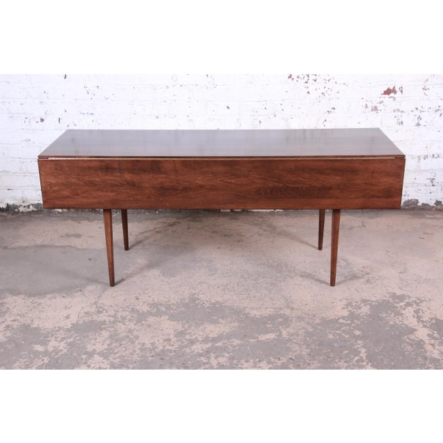 Paul McCobb Planner Group Mid-Century Modern Dining Set, Newly Restored For Sale - Image 9 of 13