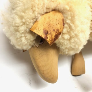 Vintage Lalanne Style Carved Wood Sheep Preview
