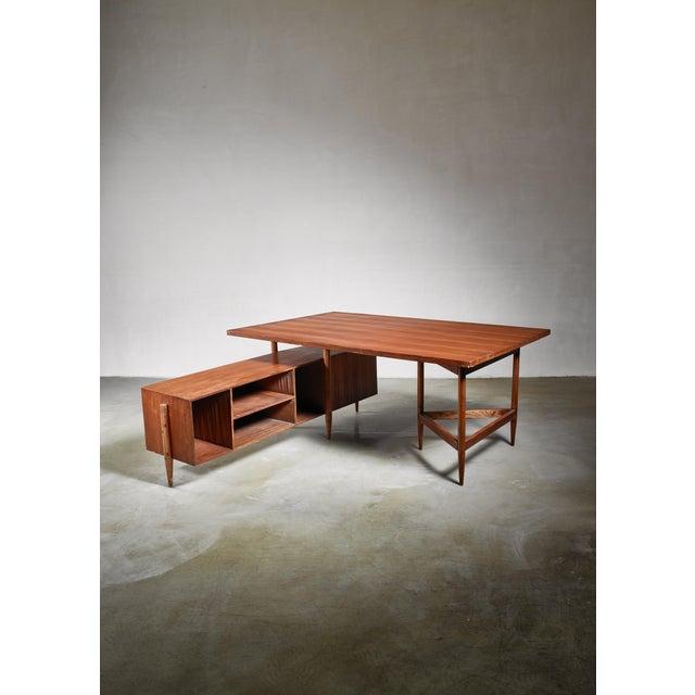 Pierre Jeanneret Pierre Jeanneret Chandigarh Desk, 1950s For Sale - Image 4 of 6