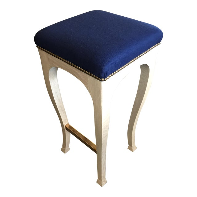 "Truex American Furniture ""Golden Gate"" Bar Stool - Image 1 of 6"