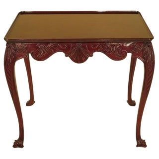 Kindel Irish Georgian Mahogany Tea Table