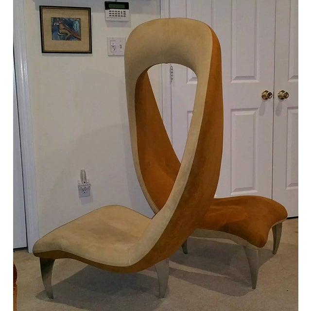 """Hank Vu """"Tete De Tete"""" Flamenco Chair - Image 3 of 7"""