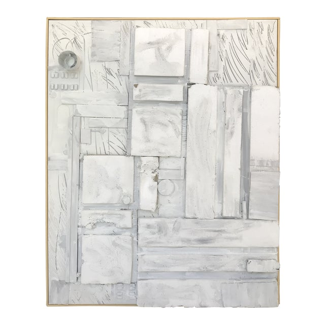 Large Contemporary Mixed Media Painting VII by William McLure For Sale