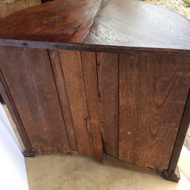 Rustic Primitive Demilune Cabinet For Sale In San Antonio - Image 6 of 10