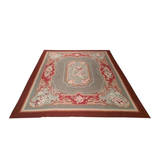 Aubusson Needlepoint Rug - 8x10 For Sale