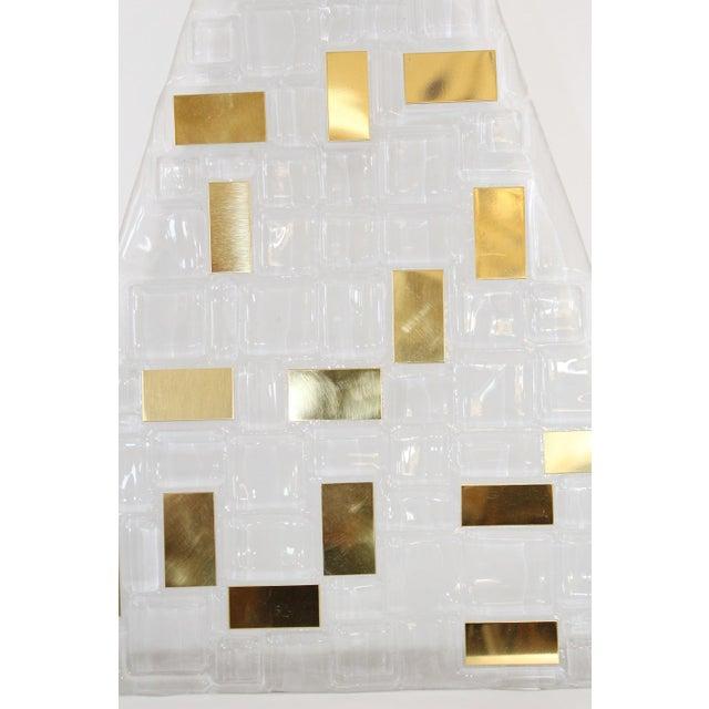 Italian Luxor Sconces / Flush Mounts by Fabio Ltd (6 Available) For Sale - Image 3 of 5