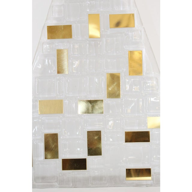 Italian Six Luxor Sconces / Flush Mounts by Fabio Ltd For Sale - Image 3 of 5