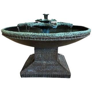 Bronze Sculptural Fountain by Aris Demetrios Circa 1970 For Sale