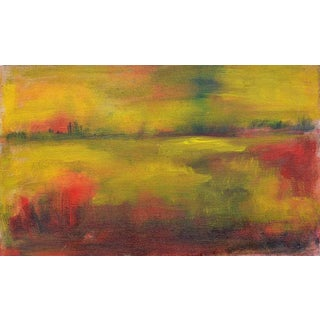 Wetlands at Sunset Landscape by Tom Hamil For Sale