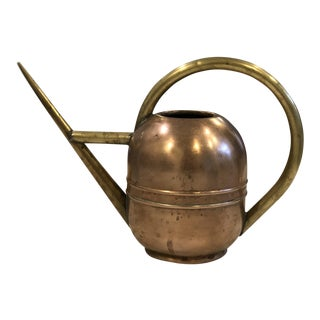 Vintage Chase Copper & Brass Watering Can