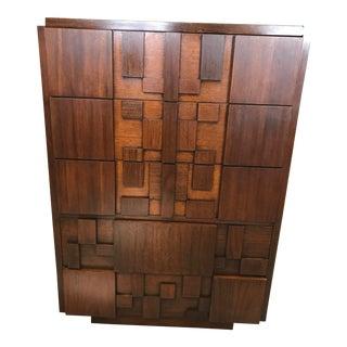 Mid Century Lane Brutalist Dresser