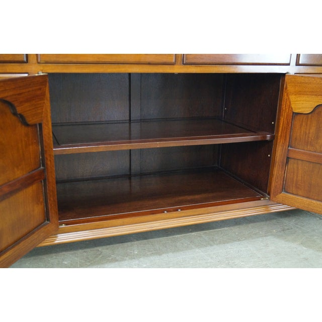 Solid Mahogany Chippendale Georgian Court Dresser - Image 6 of 10