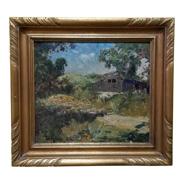 Franklin De Haven Tonalist Painting For Sale