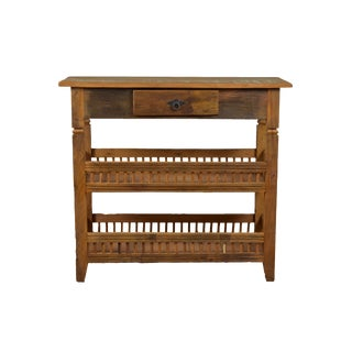 Reclaimed Wood Balinese Console Table