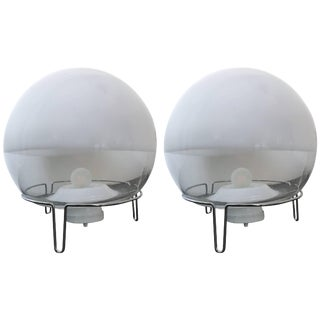 Pair of Lamps by Angelo Mangiarotti for Skipper, Italy, 1980s For Sale