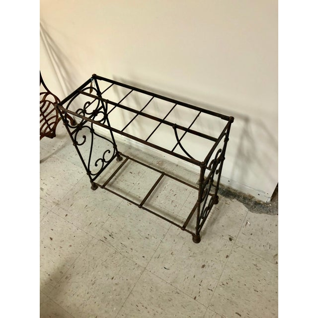 1900s Victorian Iron Stick Umbrella Stand For Sale In Nashville - Image 6 of 7