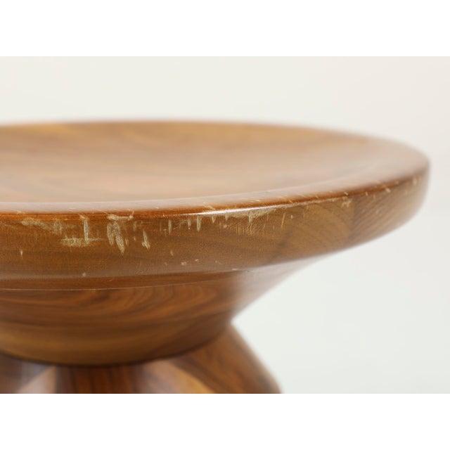 Wood Vintage Herman Miller Eames Timelife Walnut Stool For Sale - Image 7 of 9