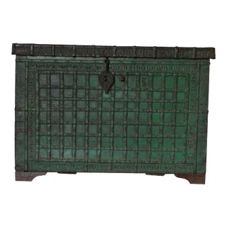 Antique Indian Dowry Chest For Sale