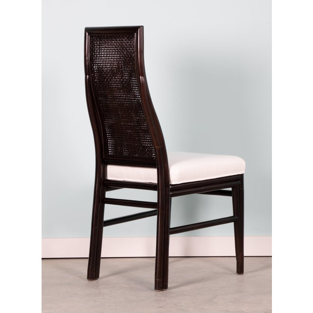 David Francis David Francis Kenya Dining Side Chairs- Set of 4 For Sale - Image 4 of 7