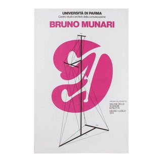 Bruno Munari Original Poster For Sale