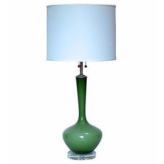 1960s Marlboro Glass Table Lamp For Sale